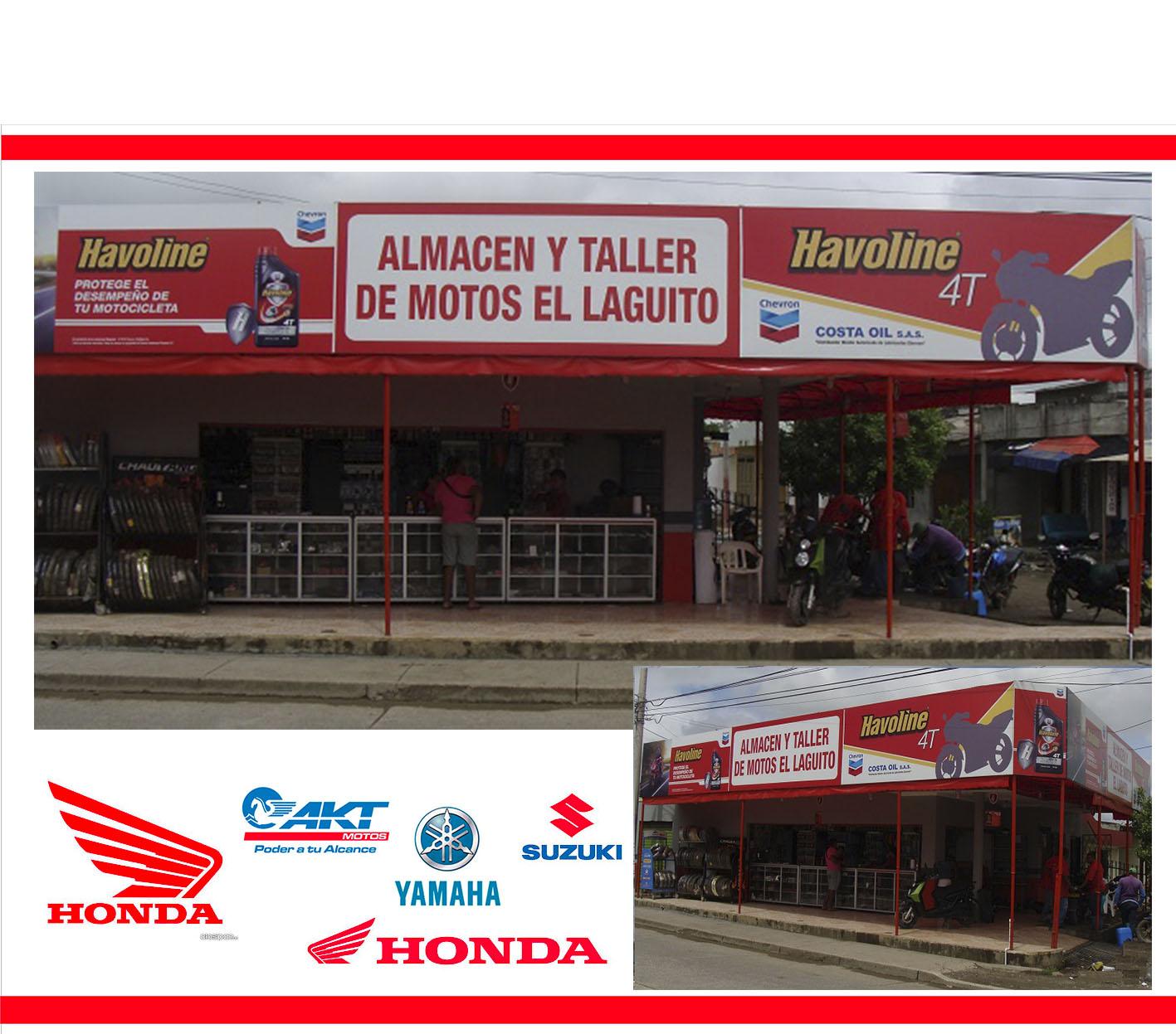 Almacen Y Taller De Motos El Laguito Amarillas De Colombia Co